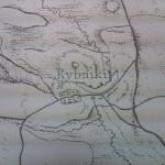 Rybniki, fragment arkusza mapy Nowych Prus Wschodnich z lat 1795-1798