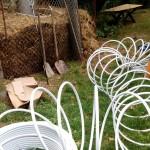 pryzma kompostowa ogrzewanie kompostem grzanie wody