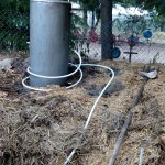 pryzma kompostowa ogrzewanie kompostem grzanie wody permakultura