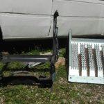 spawacz usługi Białystok naczepa scania osłona akumulatorów