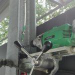 Spawacz ślusarskie usługi wiercenie otworów fi 32