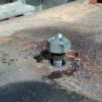 Ślusarskie usługi wkręcanie śrub spawacz stali
