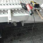 Spawanie lawety aluminium ślusarskie usługi z dojazdem Białystok i okolice